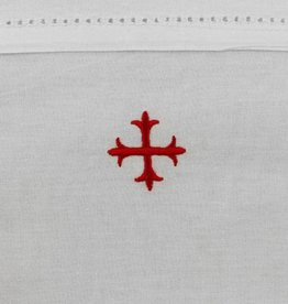"""100% Cotton Purificator with Red Cross 20"""" x 11"""""""