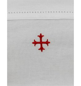 "MDS 100% Cotton Purificator with Red Cross 20"" x 11"""
