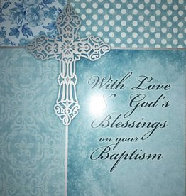 With Love Baptism Card
