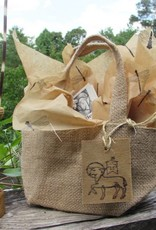 agnus dei farm Agnus Dei Farm Burlap Mini Gift Bag