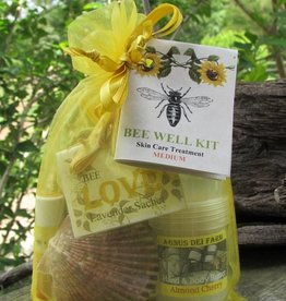 Bee Well Goat Milk Skin Care Kit Medium