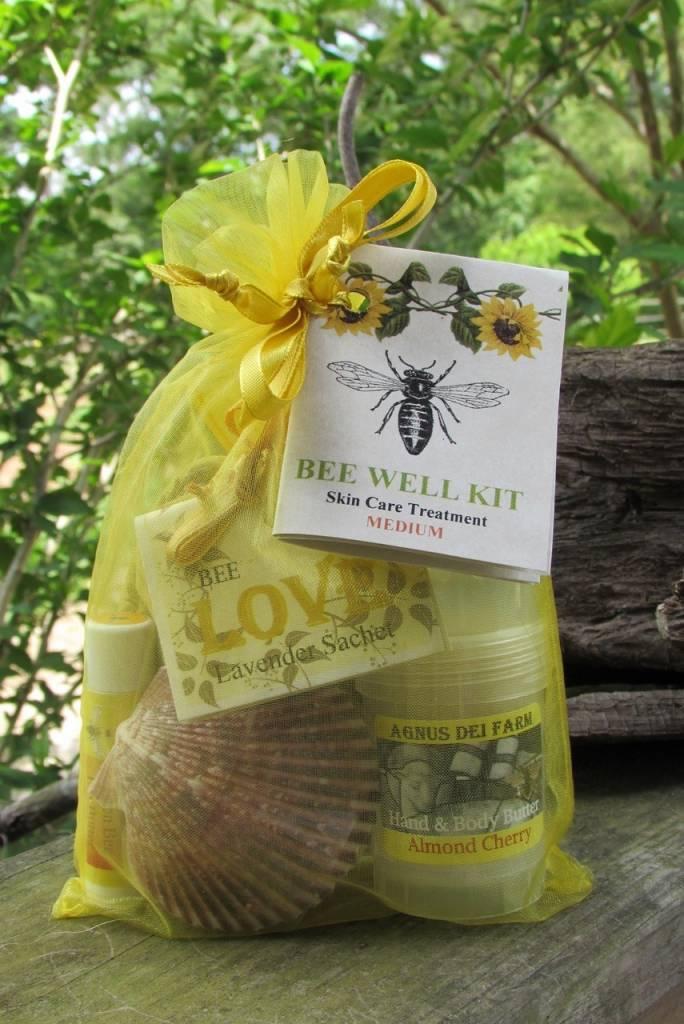 Bee Well Goat Milk Skin Care Kit Medium