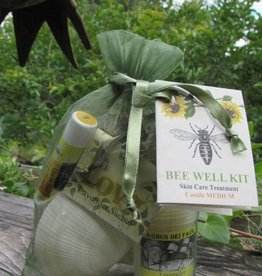 Bee Well Castile Skin Care Kit Medium