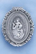 Devon St. Christopher Visor Clip