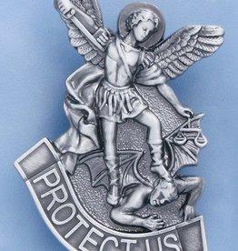 Devon St. Michael Protect Us Visor Clip