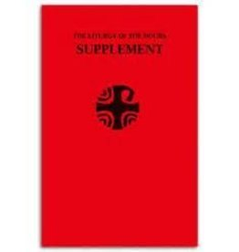 Catholic Book Publishing Corp Liturgy of the Hours Supplement (Large-Type Supplement)