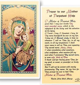 Our Mother of Perpetual Help Holy Card