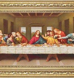 Last Supper 11X18 Goldleaf Wood Frame