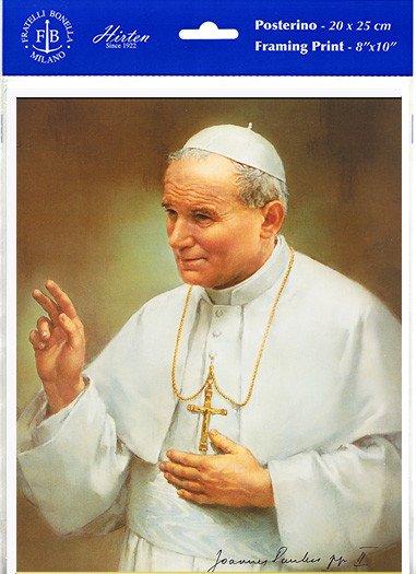 "8"" x 10"" John Paul II (Print Only)"