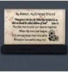 My Sister - Prayer Stone