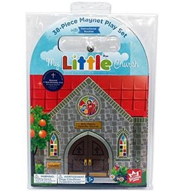 My Little Church Magnet Set