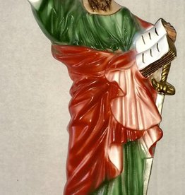 "Moshy Brothers, Inc 12"" St. Paul Statue"