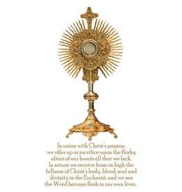 Eucharist/Monstrance Magnet