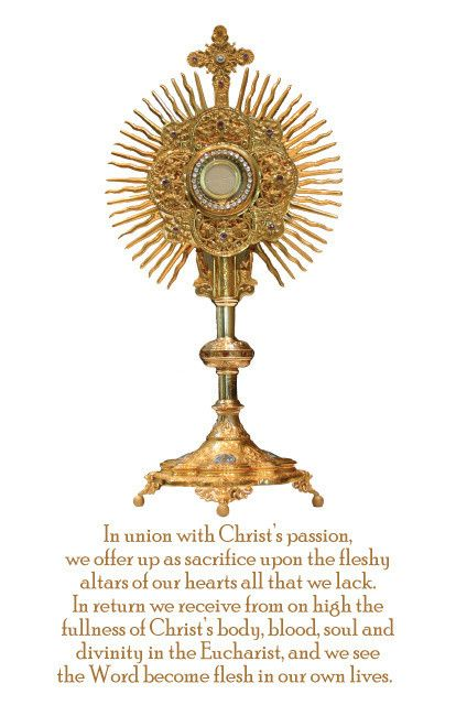 Eucharist/Monstrance Magnet