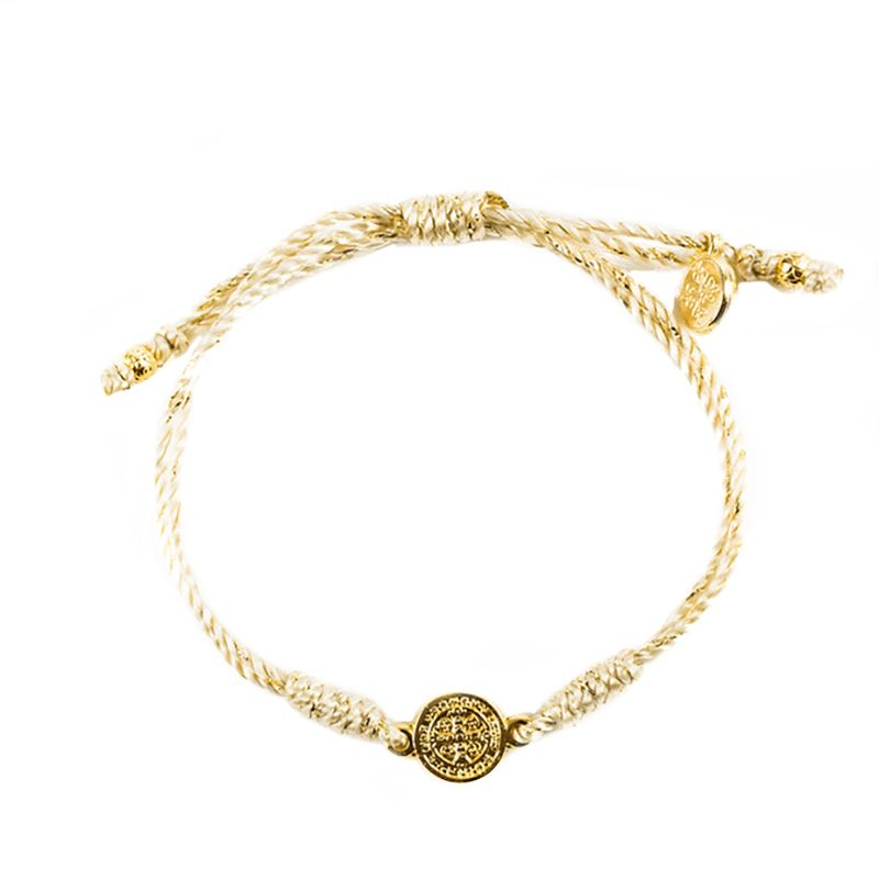 Breathe Blessing Bracelet Metallic - Gold Metallic
