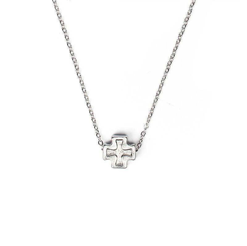 Faith Petite Necklace Silver