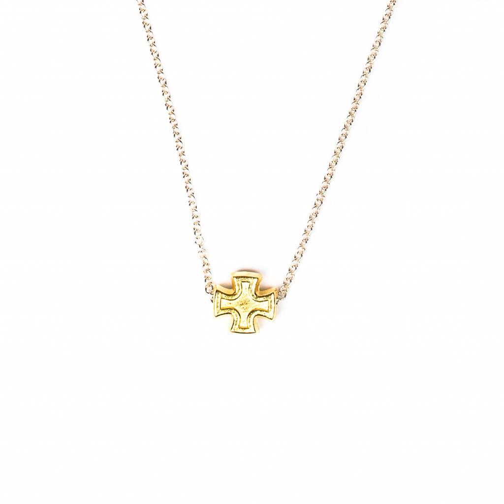 Faith Petite Necklace Gold