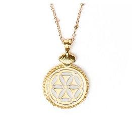 My Saint My Hero Awaken Magdalena Medallion Gold