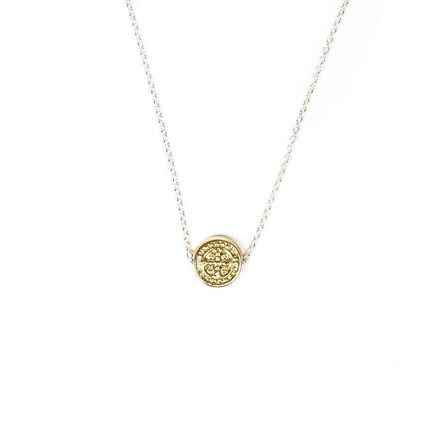 Benedictine Petite Necklace Gold