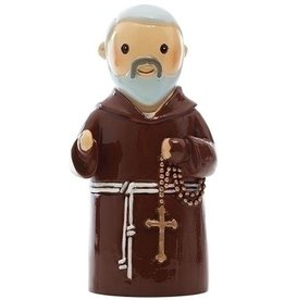 "3.25"" Little Drops of Water Padre Pio Statue"