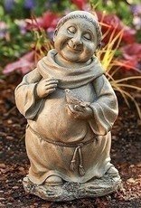 """12"""" Pudgy Monk with Bird"""