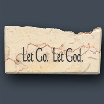 Let Go. Let God. - Promise Stone