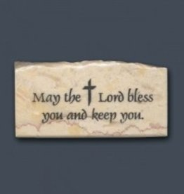 Holy Land Stone May the Lord bless you and keep you - Promise Stone
