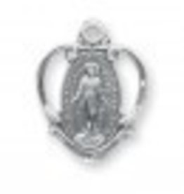 """HMH Religious Sterling Silver 3/4"""" Miraculous Medal"""