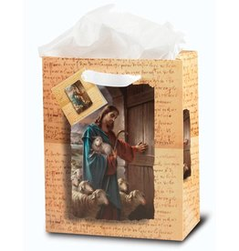 WJ Hirten Medium Good Shepherd Inspirational Gift Bag