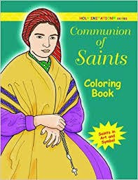 Communion of Saints Coloring Book