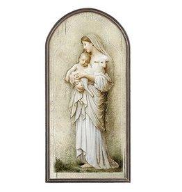 "Christian Brands 15"" Divine Innocence Arched Plaque"