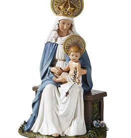 "Christian Brands 6.5"" Madonna and Child Seated"