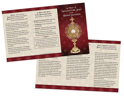 Christian Brands Adoration Trifold Card