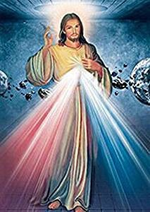 Jesus, Mary and Guardian Angel Holographic Wall Art