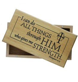 Cathedral Art I Can Do All Things - Keepsake Box