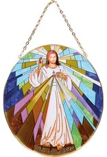 Cathedral Art Divine Mercy Stained Glass Sun Catcher