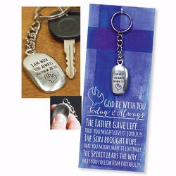 Cathedral Art Keyring-Confirmation Thumbstone