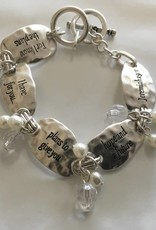 Howard's Inc Jeremiah 29:11 Scripture Toggle Bracelet
