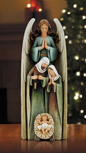"Avalon Gallery 12"" Stacking Angel Nativity"