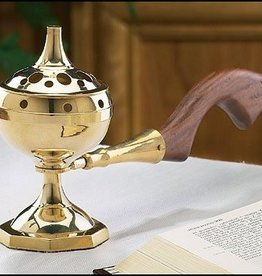 Christian Brands Long Handled Incense Burner