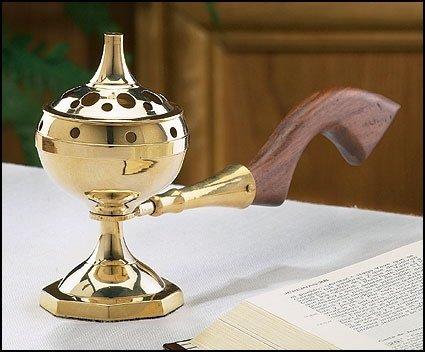 Christian Brands Long Handled Incense Burner