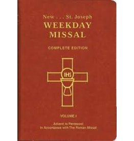 catholic books St. Joseph Weekday Missal Vol. 1 Advent to Pentecost