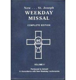 Catholic Book Publishing Corp St. Joseph Weekday Missal Vol. 2 Pentecost to Advent