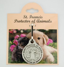 McVan Saint Francis Protector of Animals Medal (Zinc)