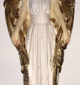 "WJ Hirten 4"" Guardian Angel Statue and Prayer Card"