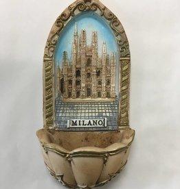 QOA Catholic Milano Holy Water Font