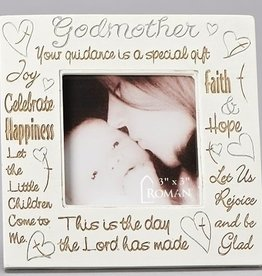 "Godmother Frame holds 3""x3"" Photo"
