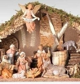 11 Pc Nativity Set by Fontanini - Italy