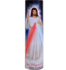 The Saints Gift Collection Divine Mercy LED Candle