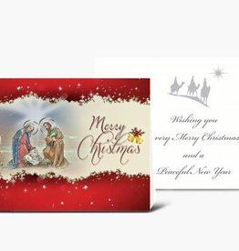 WJ Hirten Nativity With Magi Christmas Cards